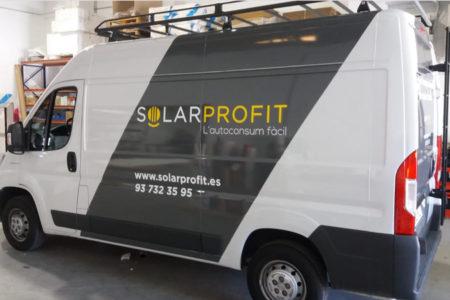 Impresión de vinilo en furgonetas