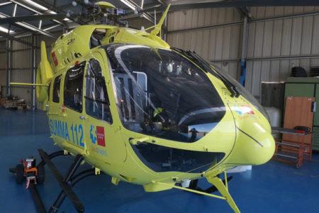 Rotulación de helicópteros vinilados